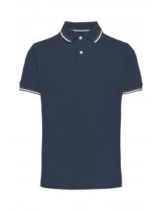 Tricou barbati, din textil, marca Geox, M1210A-T2649-F4070-42-21-06, bleumarin