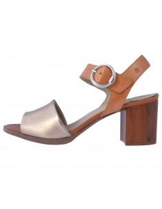 Sandale dama, din piele naturala, marca Dorking, D8174-LATQ-04-21-136, camel