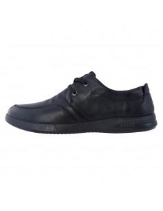 Pantofi barbati, din piele naturala, marca Mels, 99105-01-21-143, negru