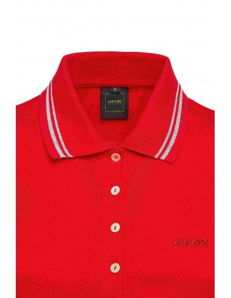 Tricou dama, din textil, marca Geox, W1210A-T2649-F7115-05-21-06, rosu