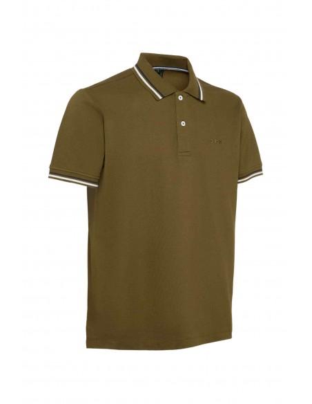 Tricou barbati, din textil, marca Geox, M1210A-T2649-F3230-40-21-06, kaki