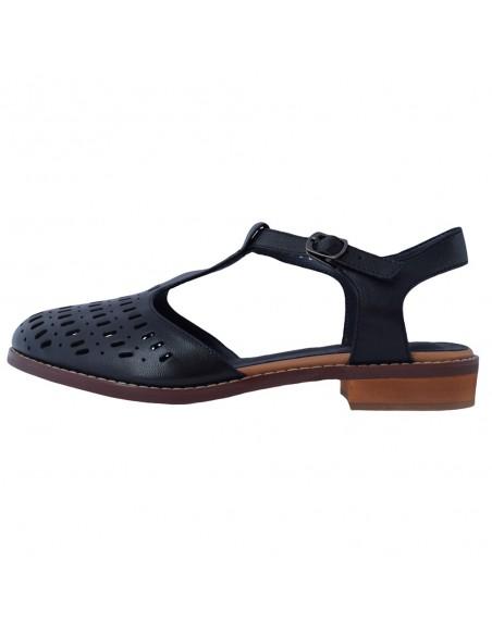 Pantofi dama, din piele naturala, marca Formazione, 888-6-01-21-145, negru