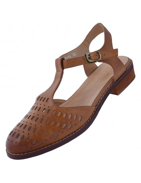 Pantofi dama, din piele naturala, marca Formazione, 888-6-02-21-145, Maro