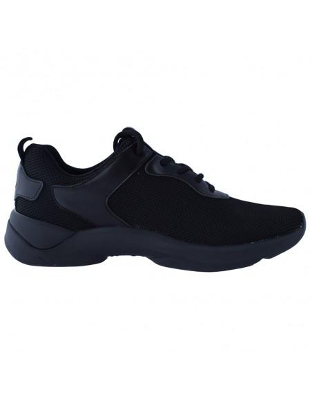 Adidasi barbati, din textil, marca Fluchos, F1251-01-21-146, negru
