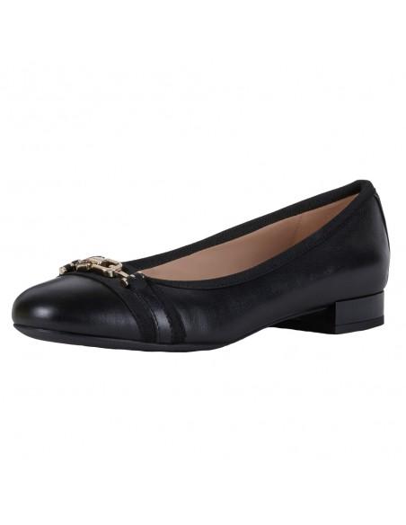 Pantofi dama, din piele naturala, marca Geox, D024GD-08502-C9999-01-06, negru
