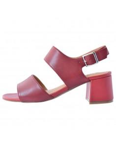 Sandale dama, din piele naturala, marca Regarde le Ciel, CATTY-35-05-21-142, rosu