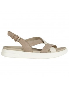 Sandale dama, din piele naturala, marca Geox, D15PAD-033CL-C0074-03-06, bej