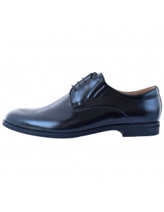 Pantofi barbati, din piele naturala, marca Conhpol, 6845-0017-00S02-01-21-40, negru