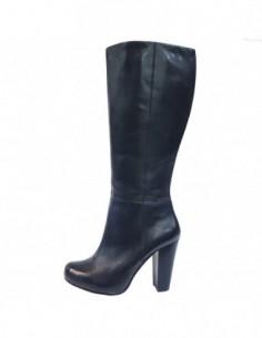 Cizme dama, piele naturala, marca s.Oliver, Cod 25511-01-15, culoare negru