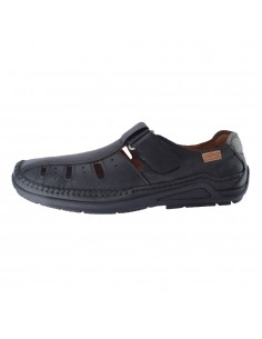 Sandale barbati, din piele naturala, marca Pikolinos, 06-0067-01-21, negru