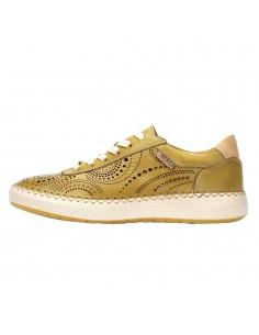 Pantofi dama, din piele naturala, marca Pikolinos, W6B-6996-08-21, galben