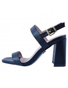Sandale dama, din piele naturala, marca Tamaris, 1-28365-26-01-21-10, negru