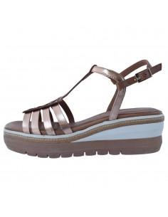 Sandale dama, din piele naturala, marca Tamaris, 1-28309-26-12-21-10, auriu