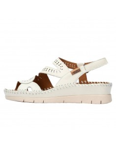Sandale dama, din piele naturala, marca Pikolinos, W7N-0630-52-21, crem