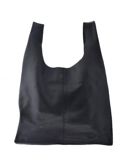 Genti dama, din piele naturala, marca Tony Bellucci, L0095-01-21-64, negru