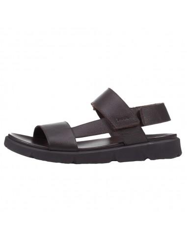 Sandale barbati, din piele naturala, marca Geox, U15BGB-0003C-C6003-06, maro