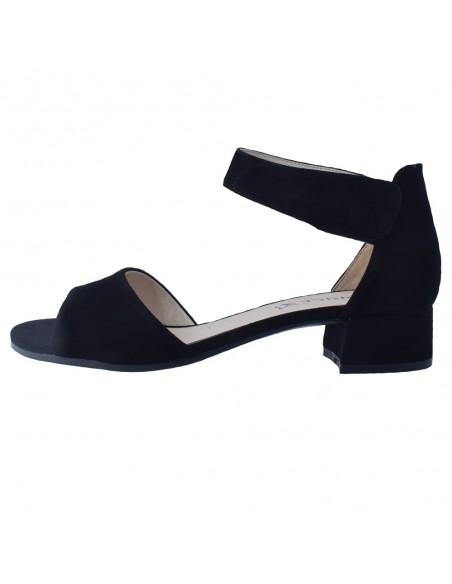 Sandale dama, din piele naturala, marca Caprice, 9-28212-26-01-21-03, negru