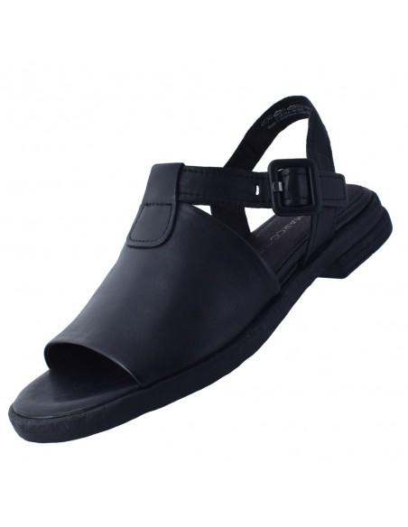 Sandale dama, din piele naturala, marca Marco Tozzi, 2-28164-36-01-21-08, negru