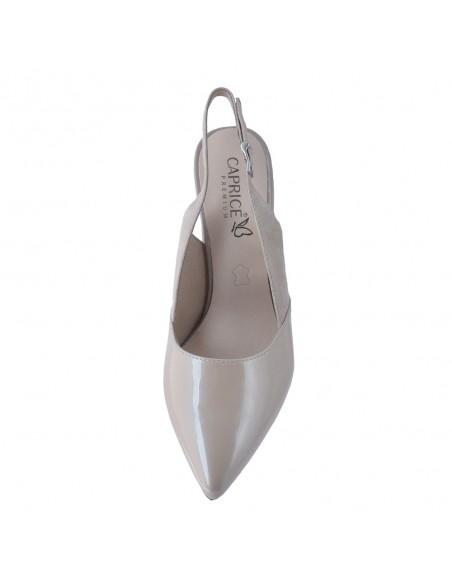 Pantofi dama, din piele naturala, marca Caprice, 9-29604-26-03-21-03, bej