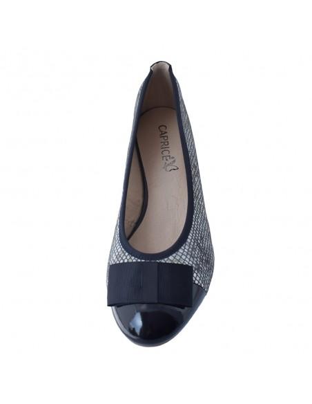 Pantofi dama, din piele naturala, marca Caprice, 9-22307-26-42-21-03, bleumarin