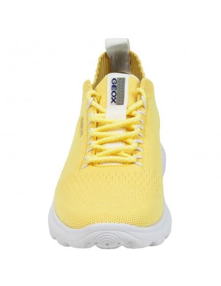 Adidasi dama, din textil, marca Geox, D15NUA-0006K-C3012-08-06, galben