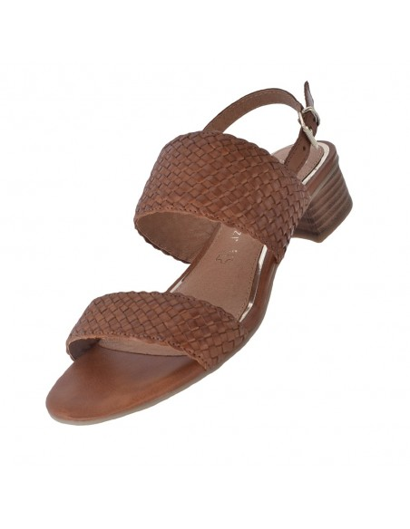 Sandale dama, din piele naturala, marca Marco Tozzi, 2-28231-36-16-21-08, coniac