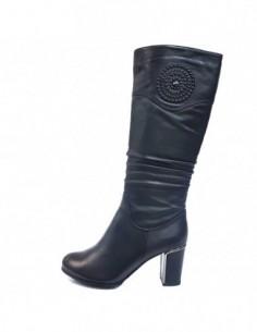 Cizme dama, piele naturala, marca Epica, Cod M286-3F-01-92, culoare negru