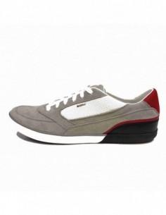 Pantofi sport barbati, piele naturala, marca Geox, Cod U44R3A-14-06, culoare gri diverse