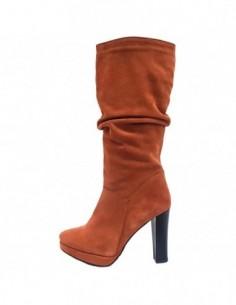 Cizme dama, piele naturala, marca Botta, Cod 500-11-05, culoare portocaliu