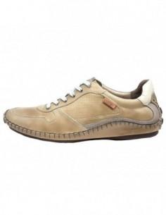 Pantofi sport barbati, piele naturala, marca Pikolinos, Cod 08J-5977-03-21, culoare bej