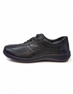 Pantofi barbati, piele naturala, marca Waldlaufer, Cod 478002-174-01-04, culoare negru