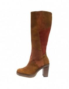 Cizme dama, piele naturala, marca Gabor, Cod GB55727-14-55-30, culoare caramiziu