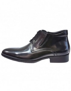 Ghete barbati, piele naturala, marca Eldemas, Cod F5001-335-01-24, culoare negru