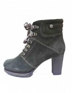 Ghete dama, piele naturala, marca s.Oliver, Cod 25209-40-15, culoare kaki
