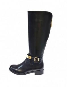 Cizme dama, piele naturala, marca Badura, Cod 9120-01-16, culoare negru
