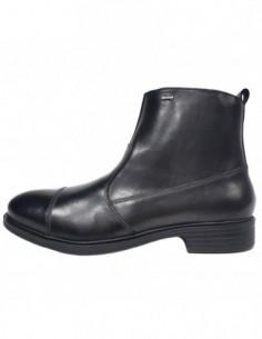 Ghete barbati, piele naturala, marca Geox, Cod U742XG-01-06, culoare negru
