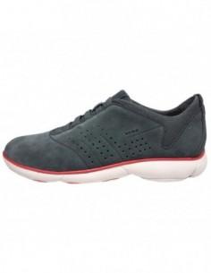 Pantofi sport barbati, piele naturala, marca Geox, Cod U72D7A-14-06, culoare gri
