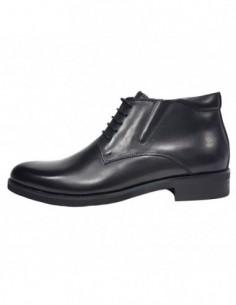 Ghete barbati, piele naturala, marca Eldemas, Cod 9811-5A-01-24, culoare negru