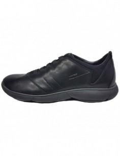 Pantofi sport barbati, piele naturala, marca Geox, Cod U52D7B-01-06, culoare negru