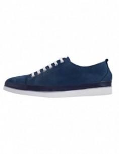 Pantofi sport dama, piele naturala, marca Jana, Cod 23608-42-09, culoare bleumarin