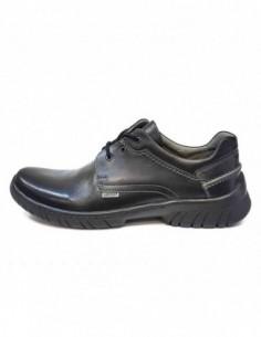 Pantofi barbati, piele naturala, marca Badura, Cod 2075-01-16, culoare negru