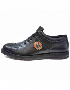Pantofi barbati, piele naturala, marca Dogati, Cod 1701-01-75, culoare negru