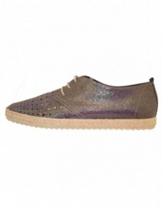 Pantofi sport dama, piele naturala, marca Tamaris, Cod 23640-17-10, culoare bronz