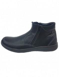 Ghete barbati, piele naturala, marca Dogati, Cod 4371-01-16, culoare negru