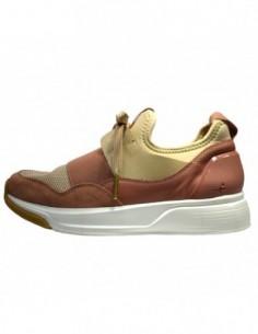 Pantofi sport dama, piele naturala, marca Tamaris, Cod 23704-M2-10, culoare nude