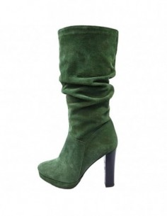 Cizme dama, piele naturala, marca Botta, Cod 500-06-05, culoare verde