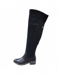 Cizme dama, piele naturala, marca Caprice, Cod 25601-01-03, culoare negru