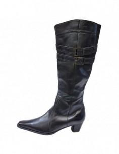 Cizme dama, piele naturala, marca Ara, Cod 1556-3049-01-13, culoare negru