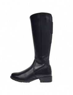 Cizme dama, piele naturala, marca Jana, Cod 25503-01-09, culoare negru