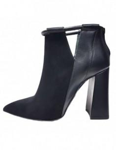 Botine dama, piele naturala, marca Gino Rossi, Cod DFH549-01-32, culoare negru